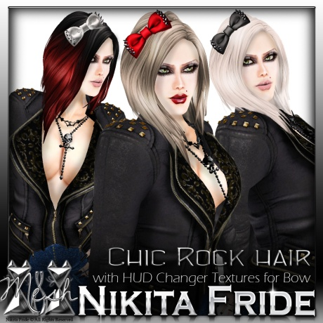 Chic Rock Hair